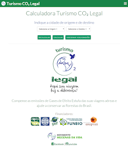 Calculadora Turismo CO₂ Legal screenshot 2