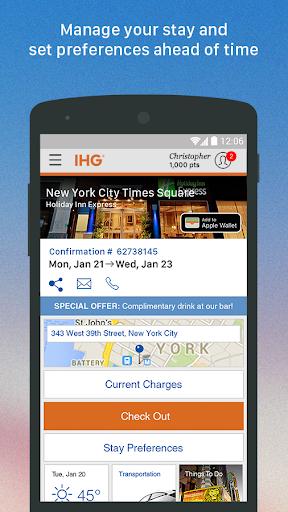 IHG®: Hotel Deals & Rewards Screenshot