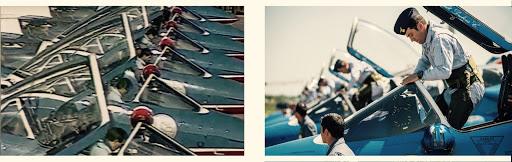 1986 2017 PAF US TOUR  PILOTE PATROUILLE DE FRANCE