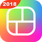 photo grid maker square insta icon