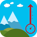 GPS Altimeter Free: Get Altitude Now icon