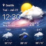 live weather widget accurate 16.1.0.47180