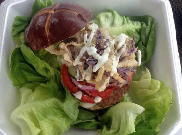 Gypsy Burger Pretzel Bread Recipe