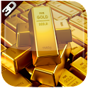 3D Golden Bricks LiveWallpaper icon