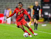Joris Kayembe bedankt Charleroi na zijn eerste minuten in het shirt van de Rode Duivels