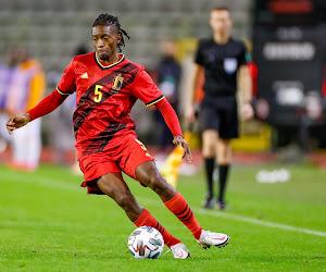 """Joris Kayembe remercie Charleroi après ses premières minutes sous le maillot des Diables : """"C'est grâce à ce club que je suis ici"""""""