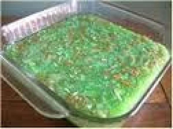 Green Goddess Jello Salad Recipe