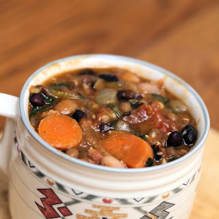 Bean and Lentil Soup.