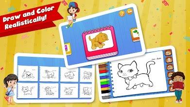 Kids Piano and Color Book screenshot thumbnail