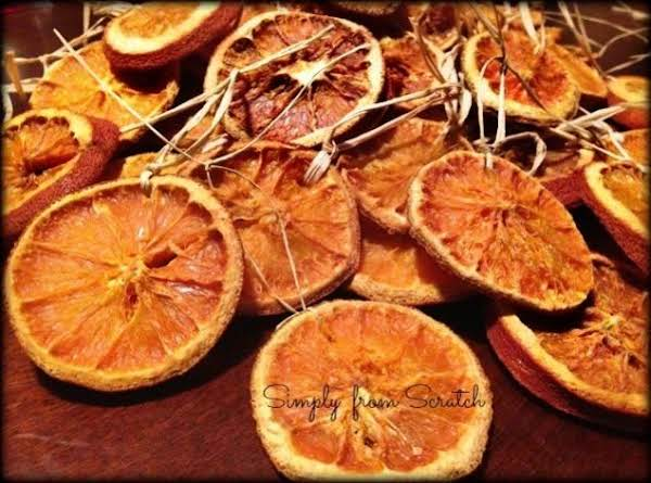Orange Slice Ornaments Recipe