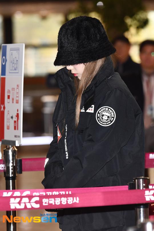 taeyeon airport sad 4
