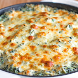 Pepper Jack Spinach Dip with Bacon.