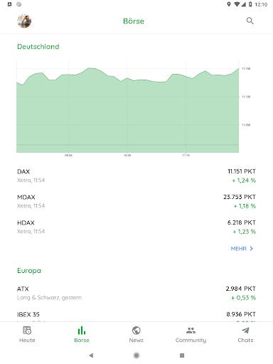 Börse & Aktien - BörsennewsApp  screenshots 10