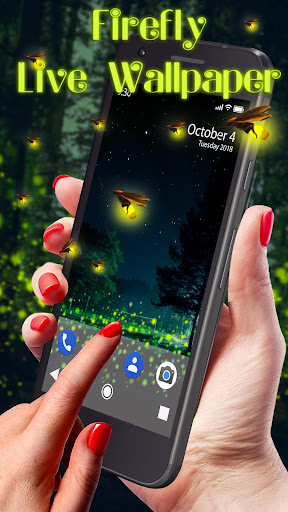 Firefly APUS Live Wallpaper - screenshot