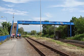Photo: most přes železniční trať v Opavě za OC Silesia (Tesco)