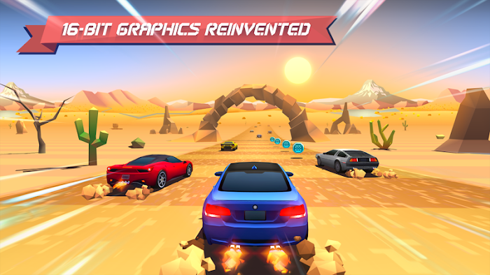 Horizon Chase - Mundial Tour- tela capturada