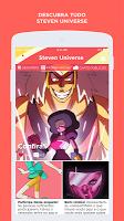 screenshot of Steven Universe Amino PT/BR