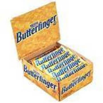 Old Fashioned Butter Finger Candy Bar