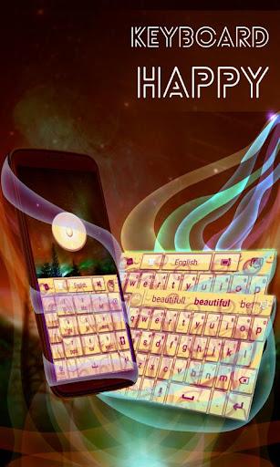 玩個人化App|キーボード幸せそうな顔免費|APP試玩