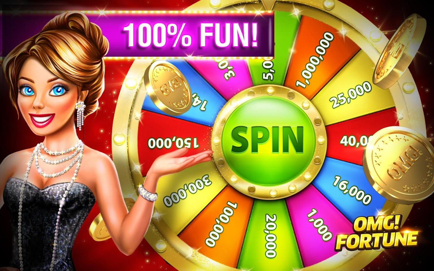 OMG! Fortune Free Slots Casino- screenshot