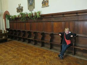 Photo: Choir chairs