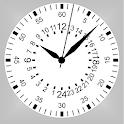 Clock24Нour white icon