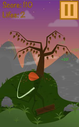 android Super Leaf Swiper 2D Screenshot 0