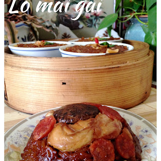 Quick and Easy Steamed Chicken Sticky Rice (Lo Mai Gai) – 糯米鸡
