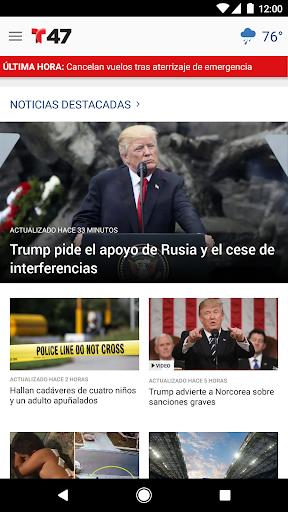 Telemundo 47 screenshot