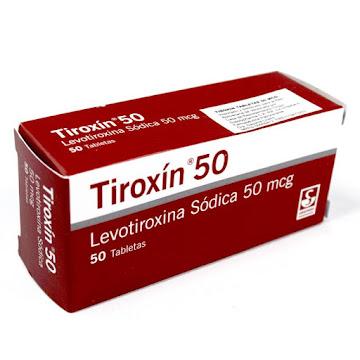 Tiroxín 50Mcg Tabletas   Caja X50Tab. Metlen Levotiroxina