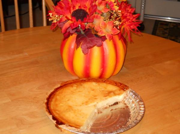 Eggnog Custard Pie Recipe