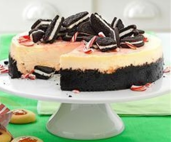 Crushed Peppermint Cheesecake Recipe