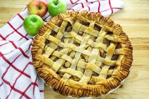 "Always Perfect Apple Pie""A must-have for every major holiday, this pie comes..."