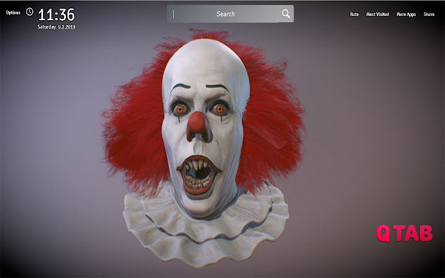 Pennywise It Wallpapers Theme Movie New Tab
