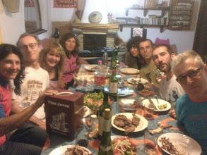 Photo: Celebrando un cumpleaños en casa de Siete. 2014