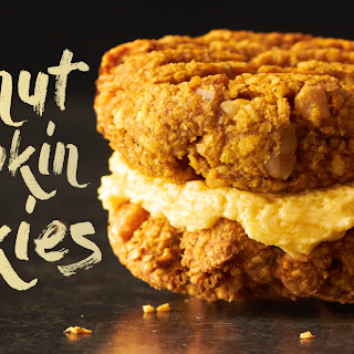 Gluten Free Peanut Pumpkin Spice Yo-Yo Cookies Recipe