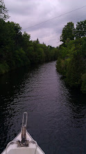 Photo: a very narrow channel