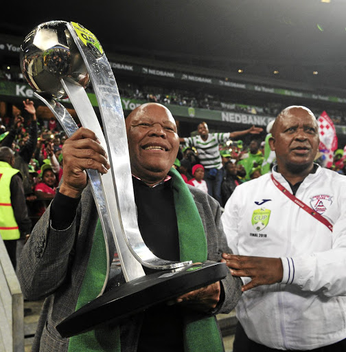 Free State Stars chairman Mike Mokoena is seeking financial aid from the government.