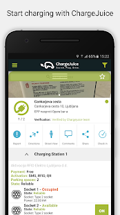 ChargeJuice - EV Charge Map- screenshot thumbnail