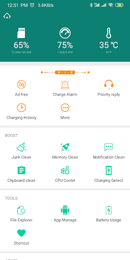 Screenshot for Fast Charging Pro (Speed up) in Taiwan Play Store