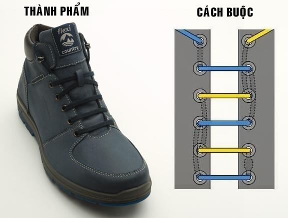 7 Cách thắt dây giày 5 lỗ cực kì độc đáo
