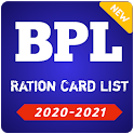 BPL List 2020-2021 - All states Ration Card List icon