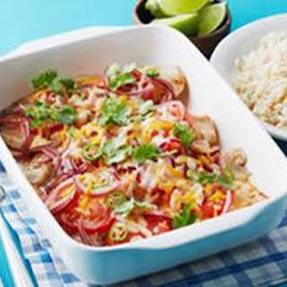 Baked Mexican Fish.