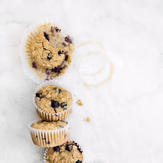 Blueberry Muffins With Oat Flour Recipes.