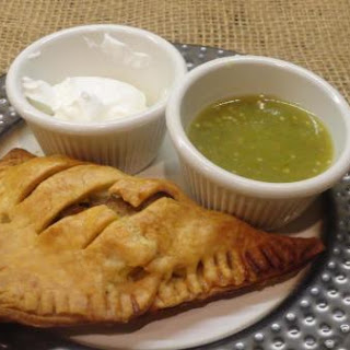 Turkey & Potatoes Empanadas with Salsa Verde