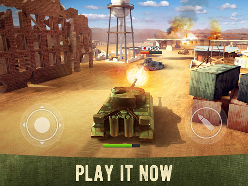 War Machines: Free Multiplayer Tank Shooting Games  screenshots 1
