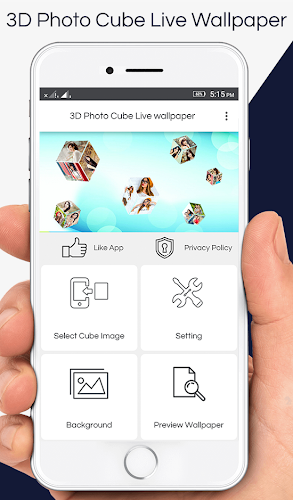 Download 3D Photo Cube Live Wallpaper APK latest version app by