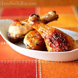 Honey-Mint Roast Chicken.