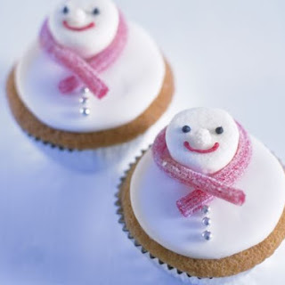 Decorated Festive Character Cakes