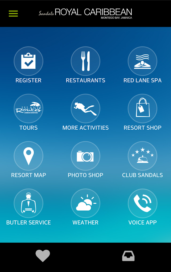 Sandals & Beaches Resorts- screenshot